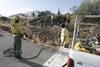 El 'piromano de la montaña' actúa en Cáceres