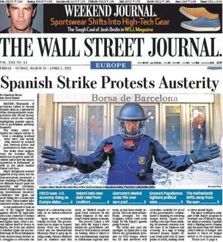 Así vieron la huelga general los medios de comunicación internacionales