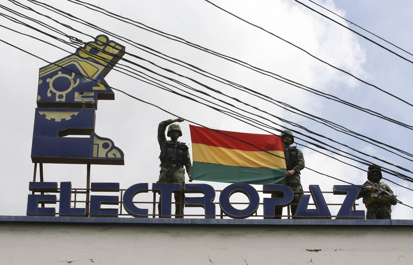 Bolivia expropia cuatro filiales de Iberdrola