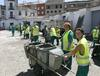 Limpiando Badajoz