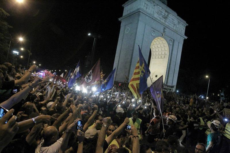 Madrid se vuelca con los mineros