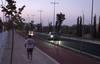 El camino a Las Vaguadas a oscuras