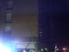 Accidente nocturno cerca de la estación de autobuses de Badajoz