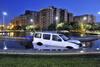 Nuevo accidente en la rotonda Isabel de Portugal en Badajoz