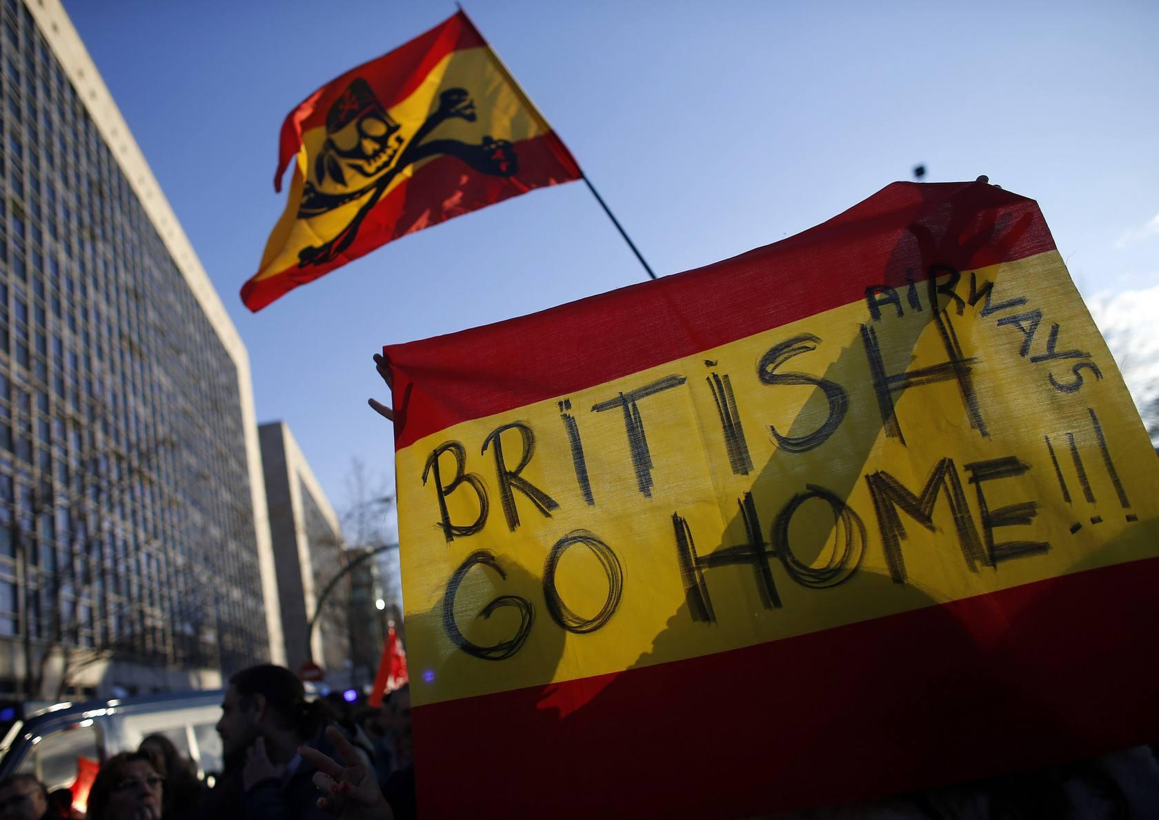 Tercera jornada de la huelga de Iberia