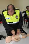 Los Policías Locales reciben formación para contribuir a salvar vidas