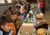 El Claustro de la Catedral expone belenes realizados por los alumnos de primaria