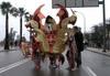 Comparsa Lancelot: Desfile 2008