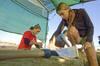 Un día en las excavaciones con Primeros Pobladores