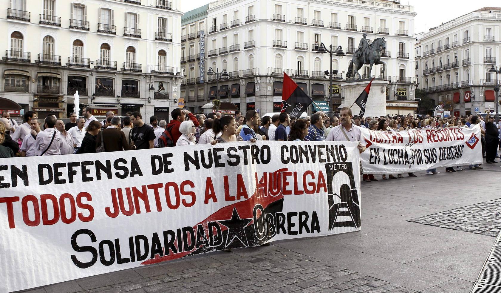 Huelga contra la liberación del sector ferroviario