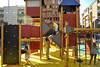 Parque infantil en la Plaza de los Alféreces