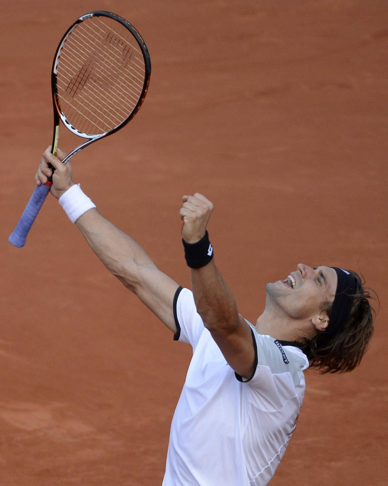 Ferrer alcanza su primera final de Roland Garros