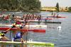 El río Guadiana como pista de carreras