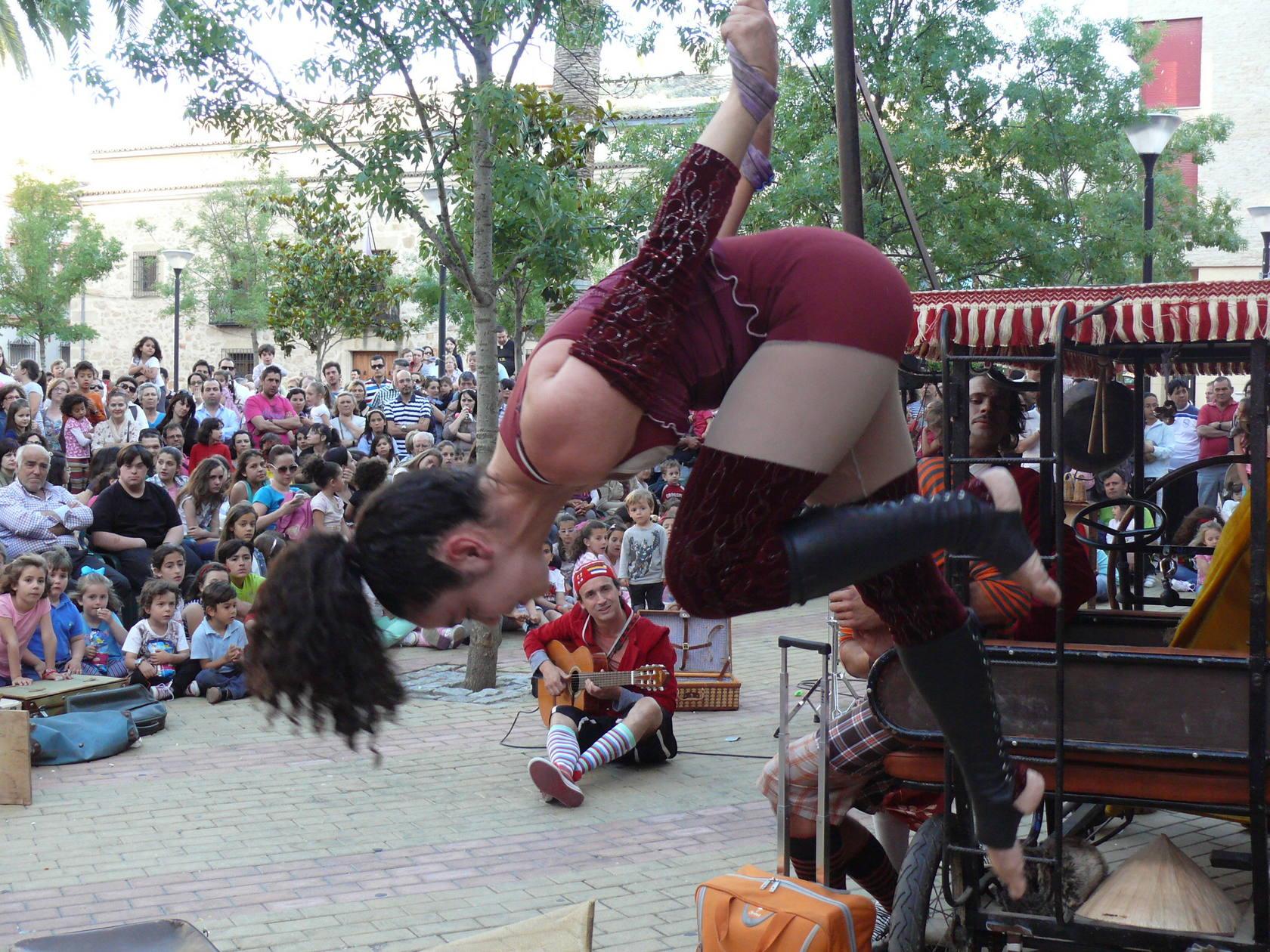 Gran acogida del festival 'Nosolocirco' en Navalmoral