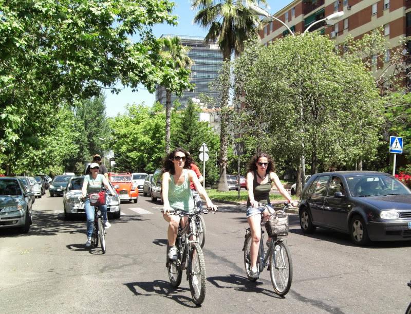 Una mañana de sábado en bicicleta