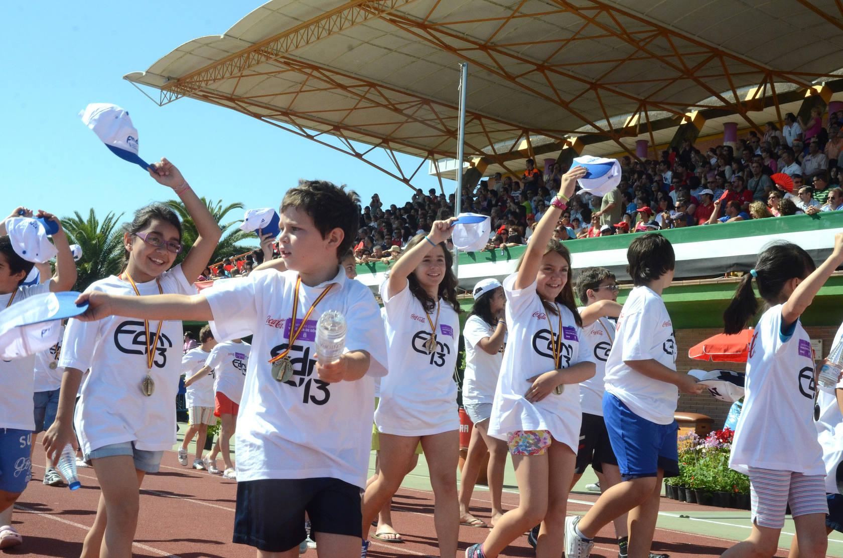 Clausura de las Escuelas Deportivas de Badajoz