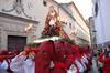 El Jueves Santo llenó de público el casco histórico de Plasencia