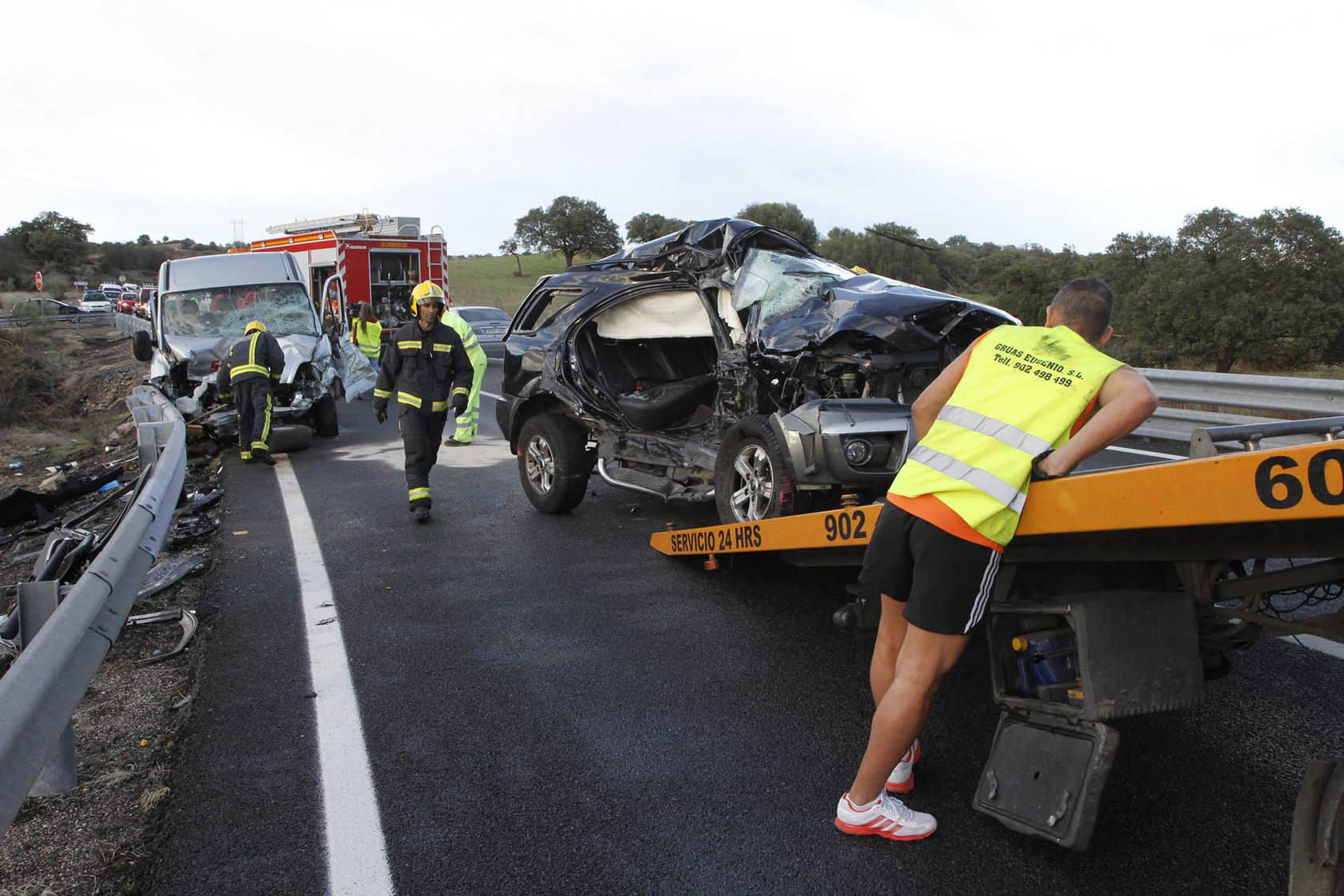 Muere un vecino de Plasencia en un accidente de tráfico