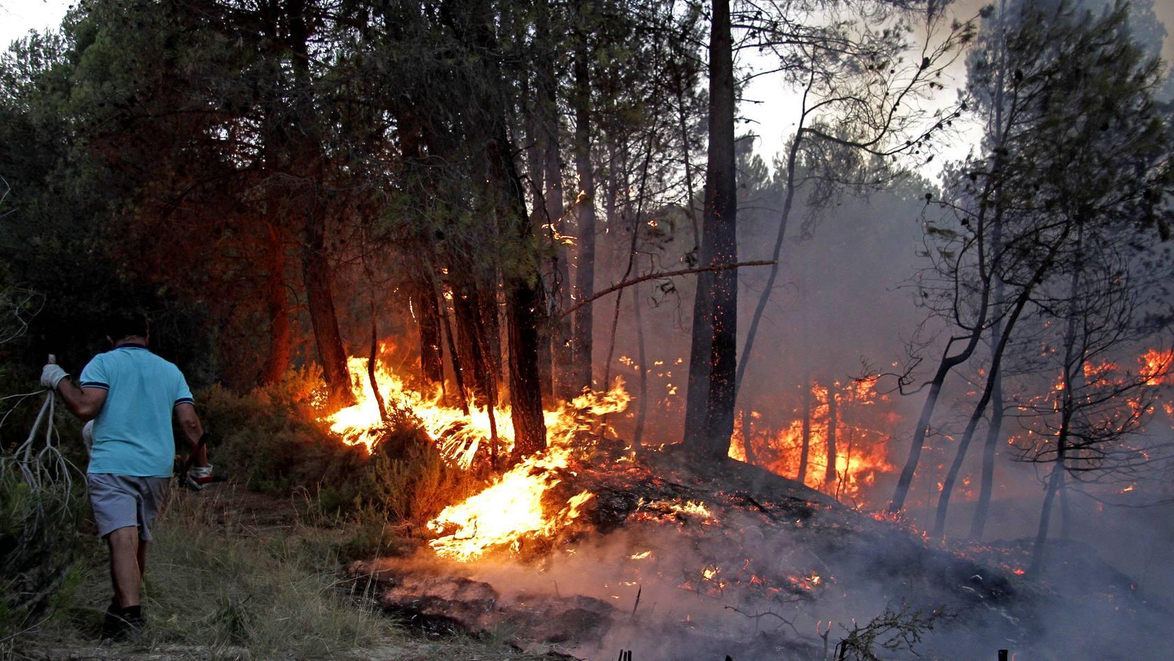 Incendio en Torremanzanas