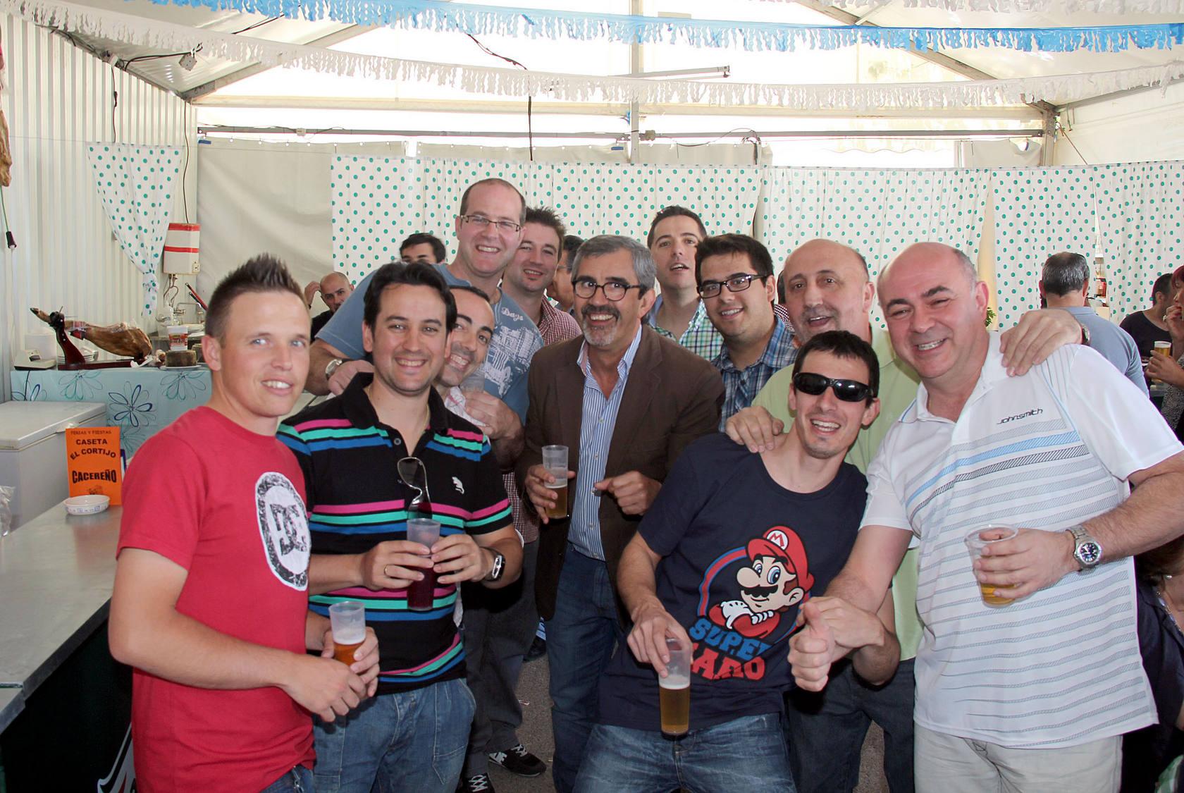Mediodía en la Feria de Cáceres