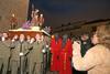 La lluvia interrumpe las procesiones en Cáceres