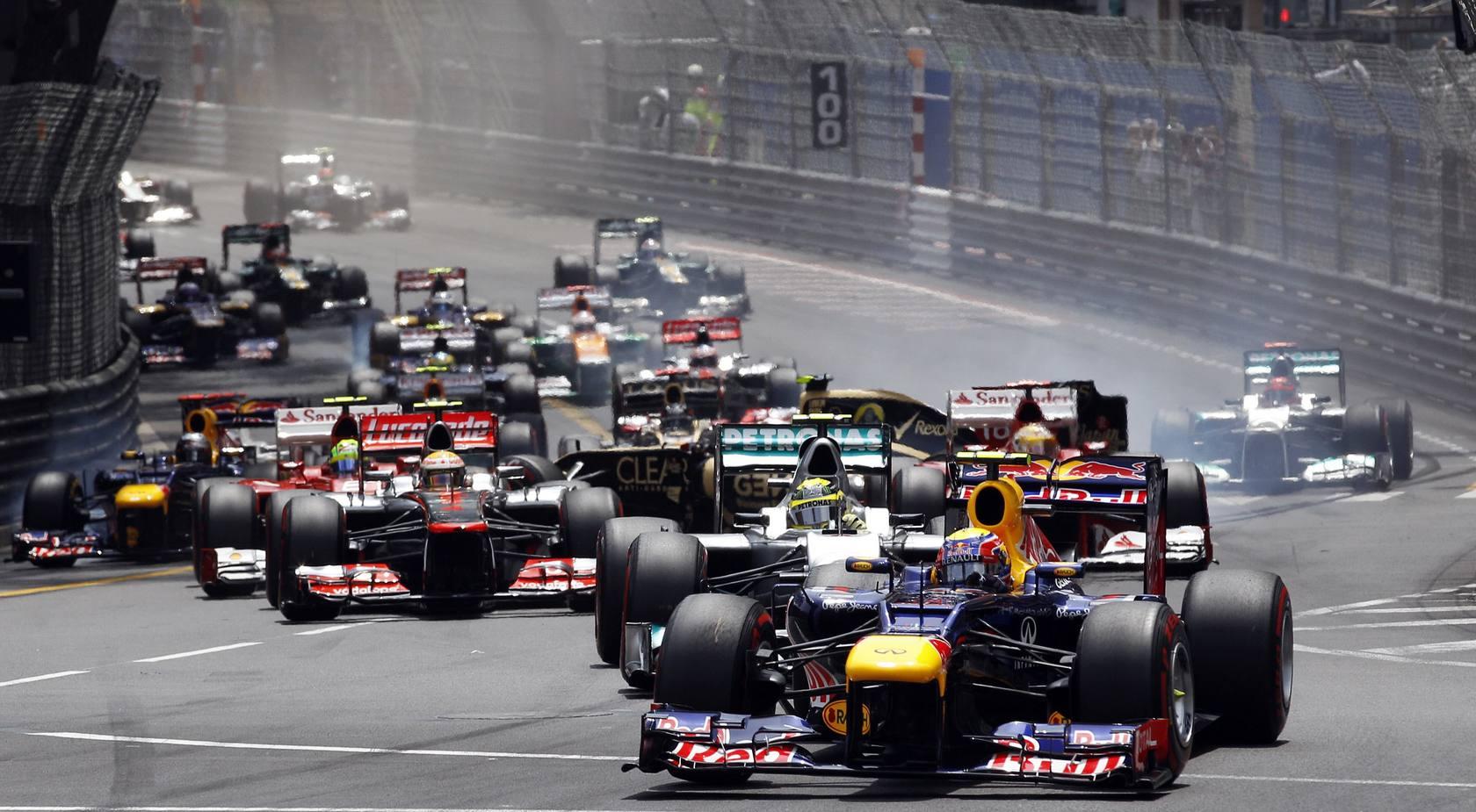 Mark Webber gana en Mónaco , Fernando Alonso líder del Mundial