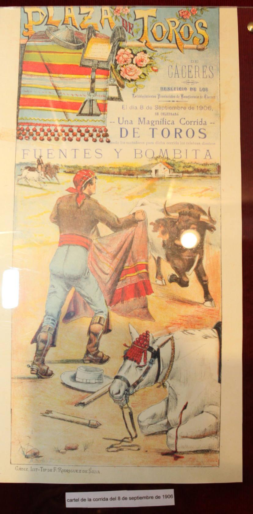 El Museo Municipal recoge documentos que recrean el pasado y el presente de la Plaza de Toros de Cáceres